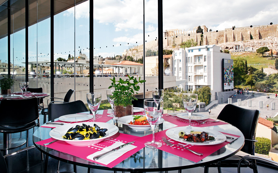 Restaurant picks acropolis area greece is for Acropolis cuisine