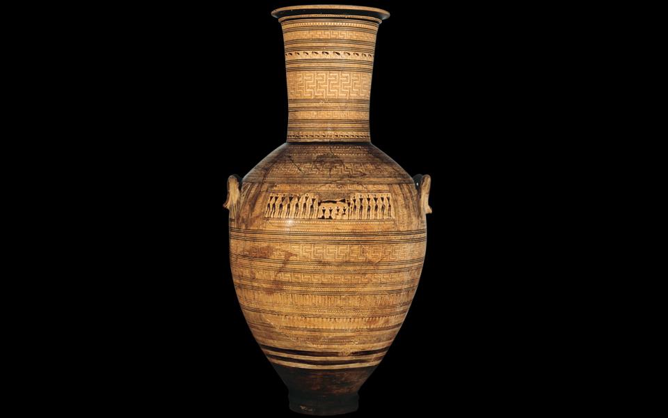 <h5>DIPYLON VASE (760-750 BC)</h5>