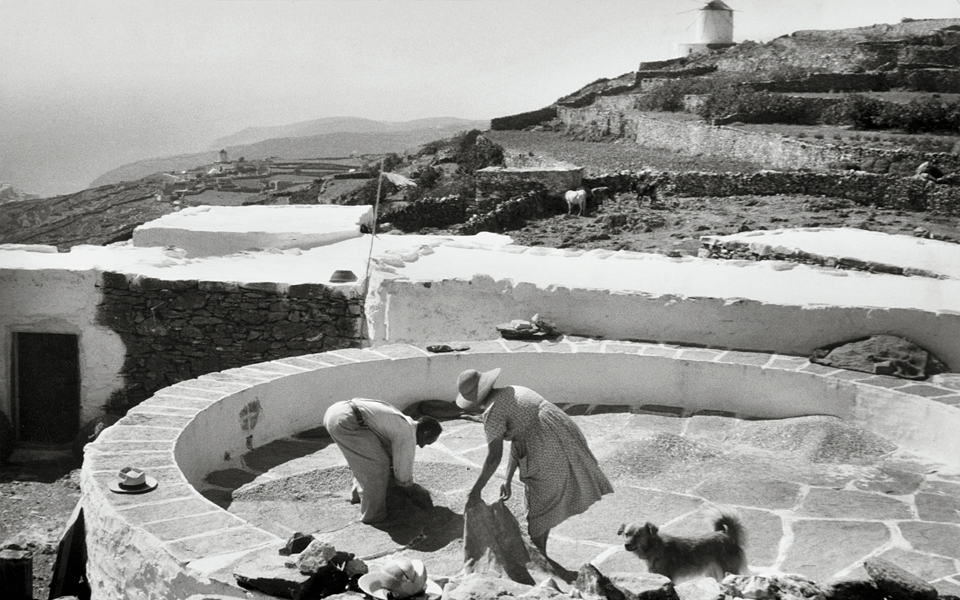 <h5>Cyclades. Santorini Island, 1961</h5>