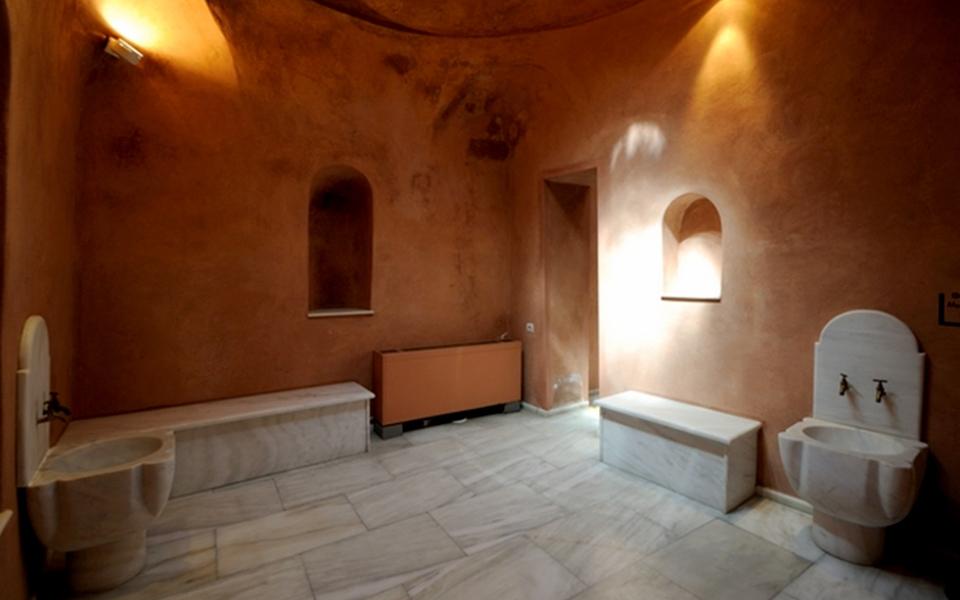 <h5>MUSEUM OF GREEK FOLK ART - Bath House of the Winds</h5>