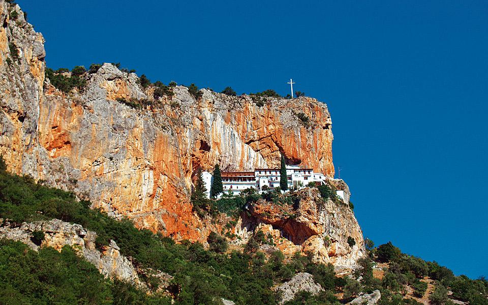 <h5>Monastery of Panaghia Elonis</h5>