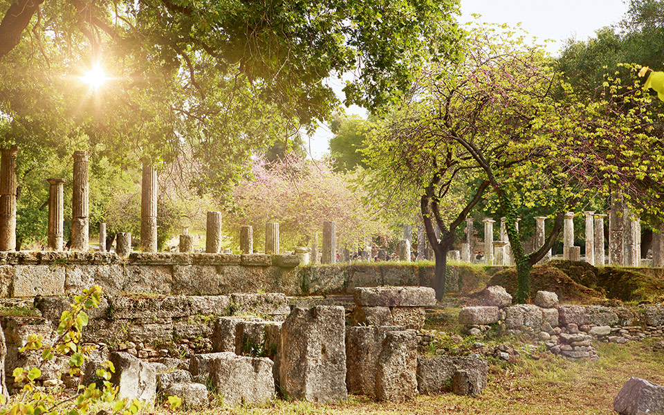ancient olympia olympic games heritage