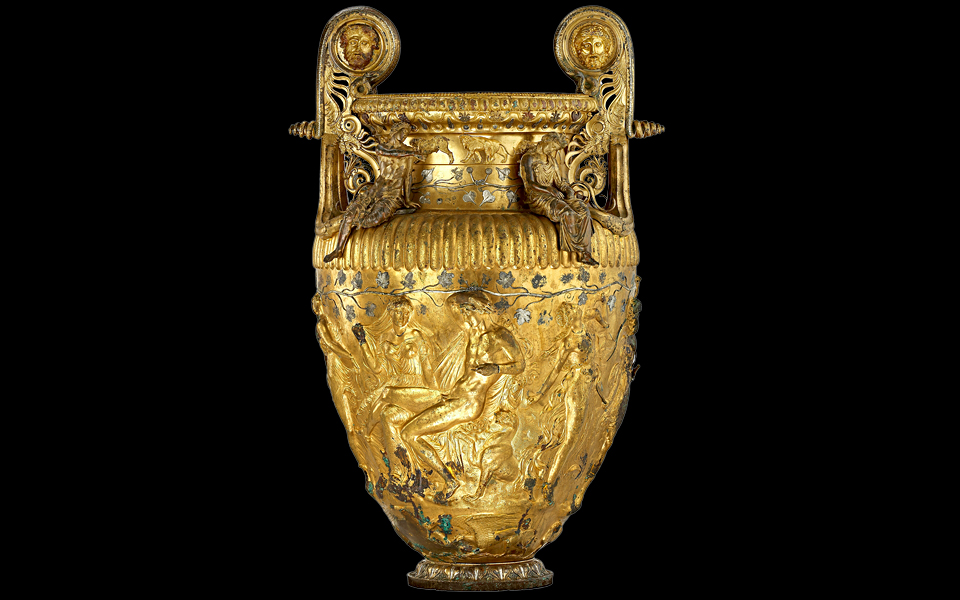 <h5>The Derveni krater (late 4th c BC)</h5>
