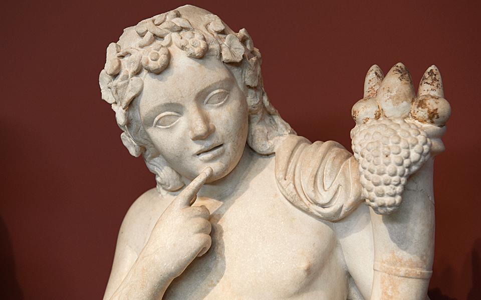 <h5>Statuette of Harpocrates (3rd c AD)</h5>