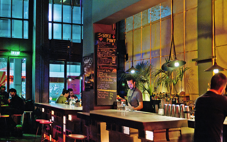 <h5>Cocktail Bar</h5>
