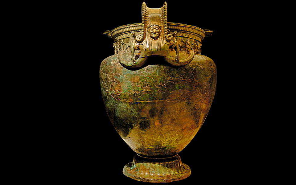 The Vix Krater A Testament To The Greek Wine Trade Greece Is