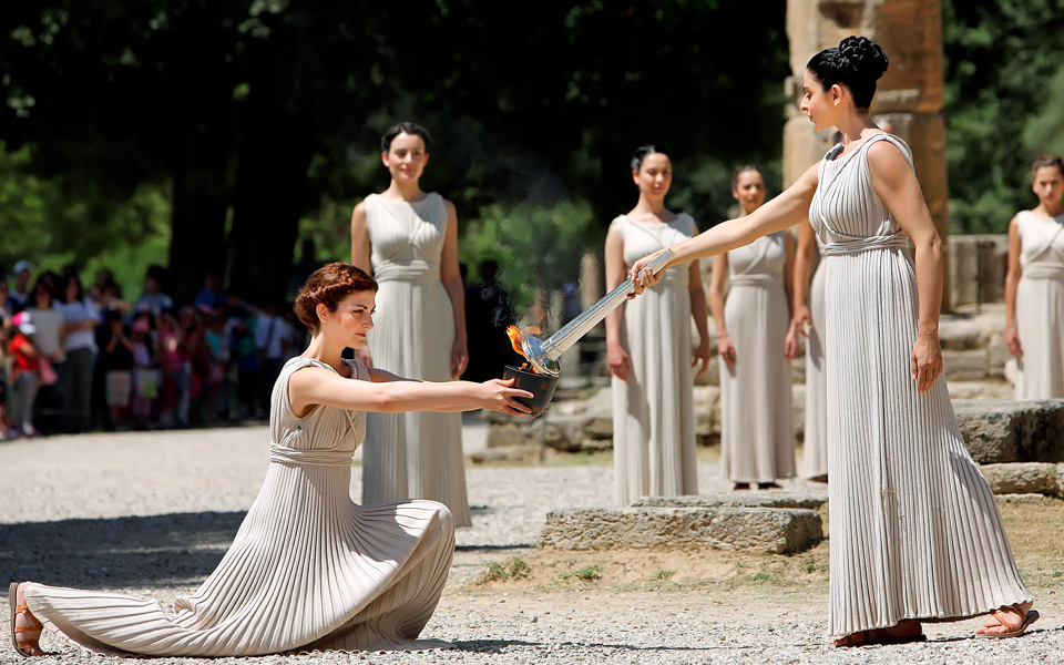 sc 1 st  Greece Is & Rio 2016: All Set for the Olympic Flame Lighting Ceremony - Greece Is azcodes.com