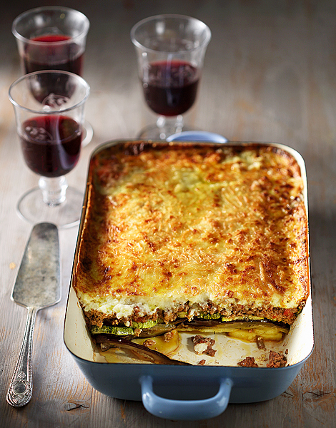 Moussaka A Favorite Family Sunday Food Would Pair Well With A Young Xinomavro Moussaka A Favorite Family Sunday Food Would Pair Well With A Young