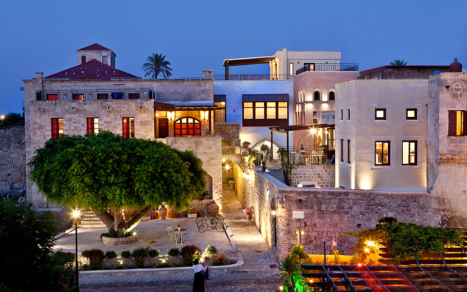 The five best hotels in rhodes old town greece is for Five boutique hotel