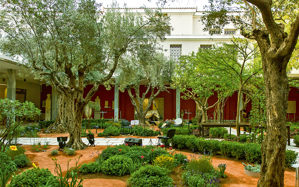 A Green Paradise in A Museum Garden - Greece Is