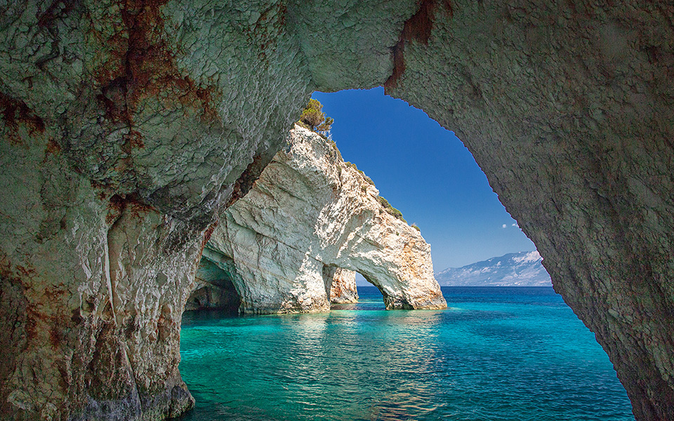 The Incredible Blue Caves of Greece - Greece Is