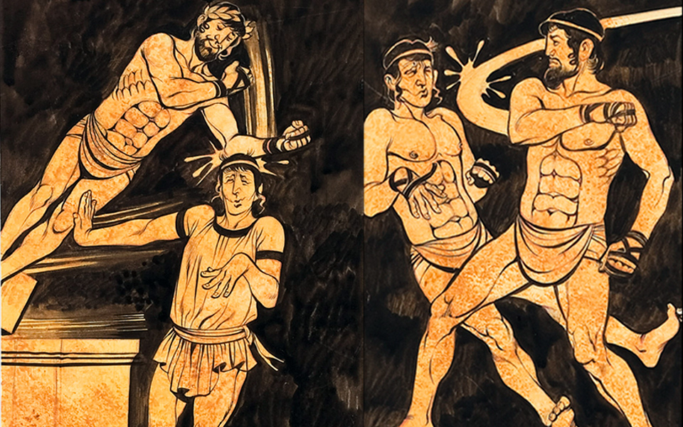 a research on the ancient olympics With the summer olympics around the corner, what a terrific time to study ancient greece, where the first olympics were held more than 2,500 years ago.
