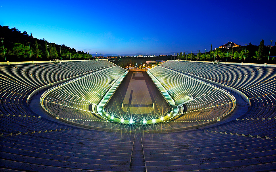 The Panathenaic Stadium Miracle In Marble Greece Is