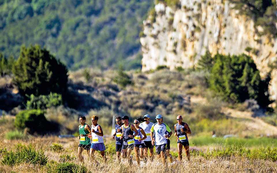 during the Navarino Challenge 2015 at Costa Navarino on September 13, 2015 in Romanos, Greece. (Photograph by Vladimir Rys)
