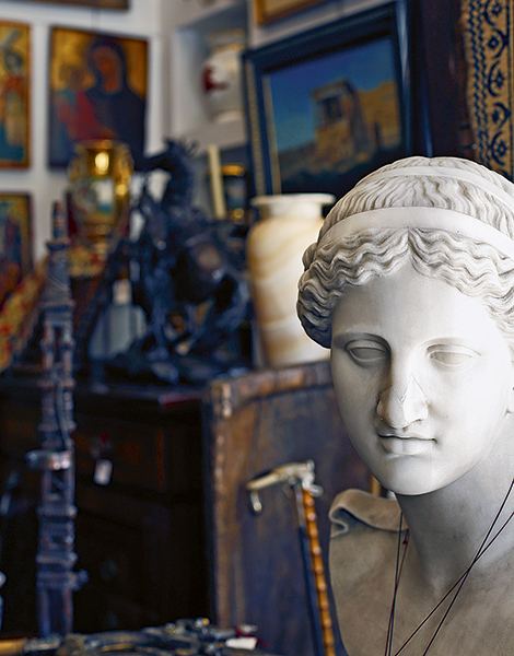 d6ac18bb55 The antique shops of Monastiraki are a haven for those looking for  something unusual