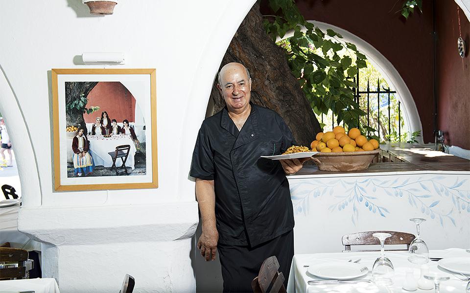 The Mavrikos Restaurant In Lindos The Mavrikos Restaurant In Lindos