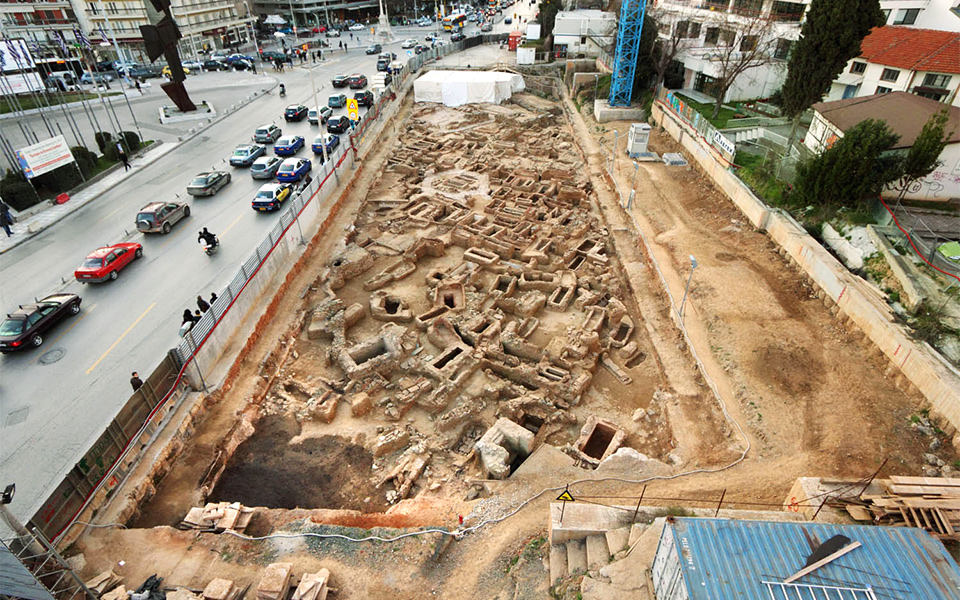 Thessaloniki's New Subway Brings Archaeological Wealth to Light