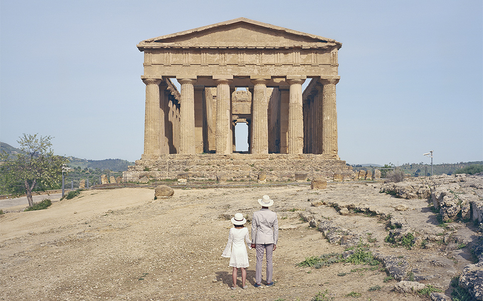 34b8ae672d Ruins at the site of the ancient Greek city of Akragas in Agrigento, Sicily