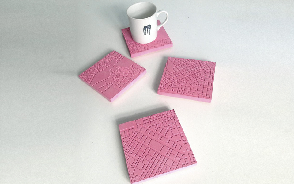 <h5>Athens Fragments Coasters -  €32</h5>