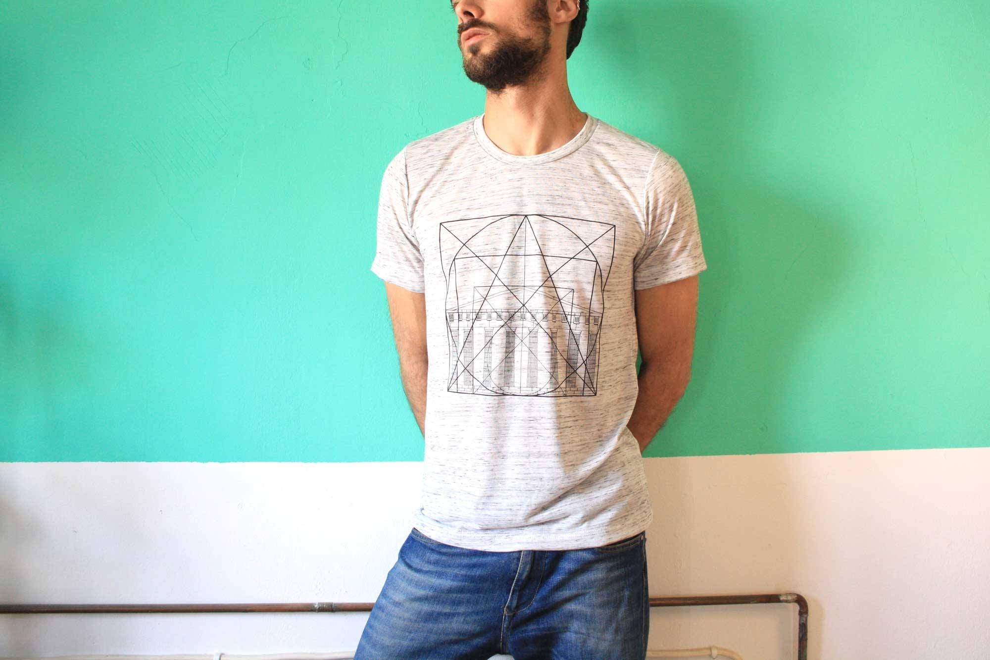 "<h5>""Golden Ratio"" Print T-shirt from Zacharias ca. €21.00</h5>"