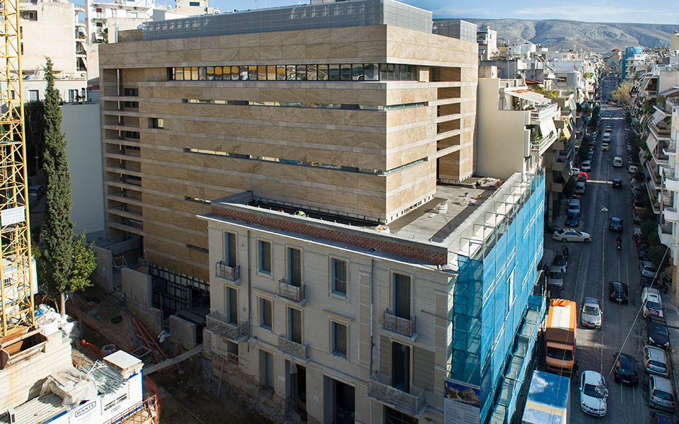 Museum Of Modern Art Athens Greece