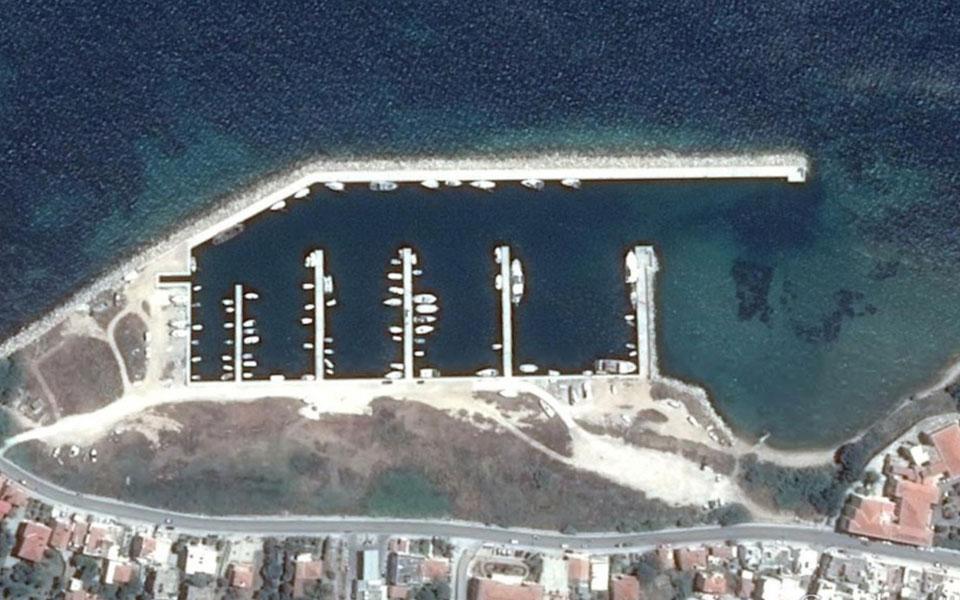 Chios-marina
