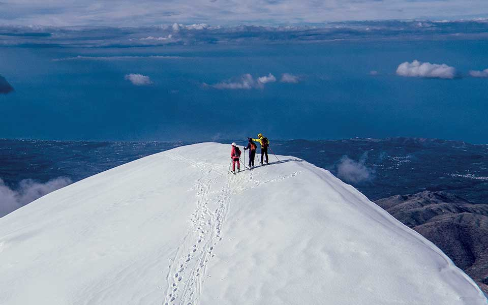 Snow Way Crete Is Europe S Most Surprising Skiing