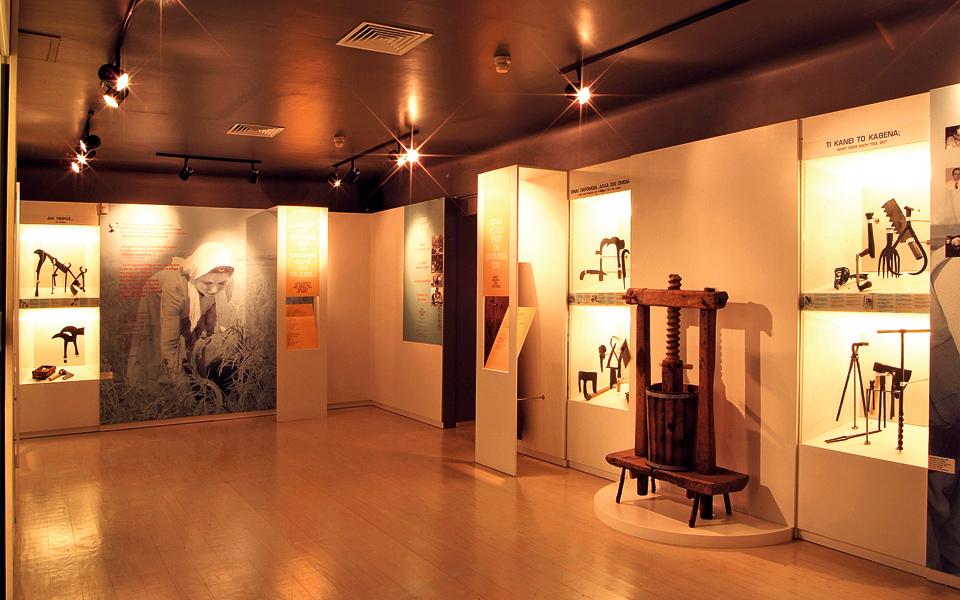 <h5>MUSEUM OF GREEK FOLK ART - Panos Street Building</h5>