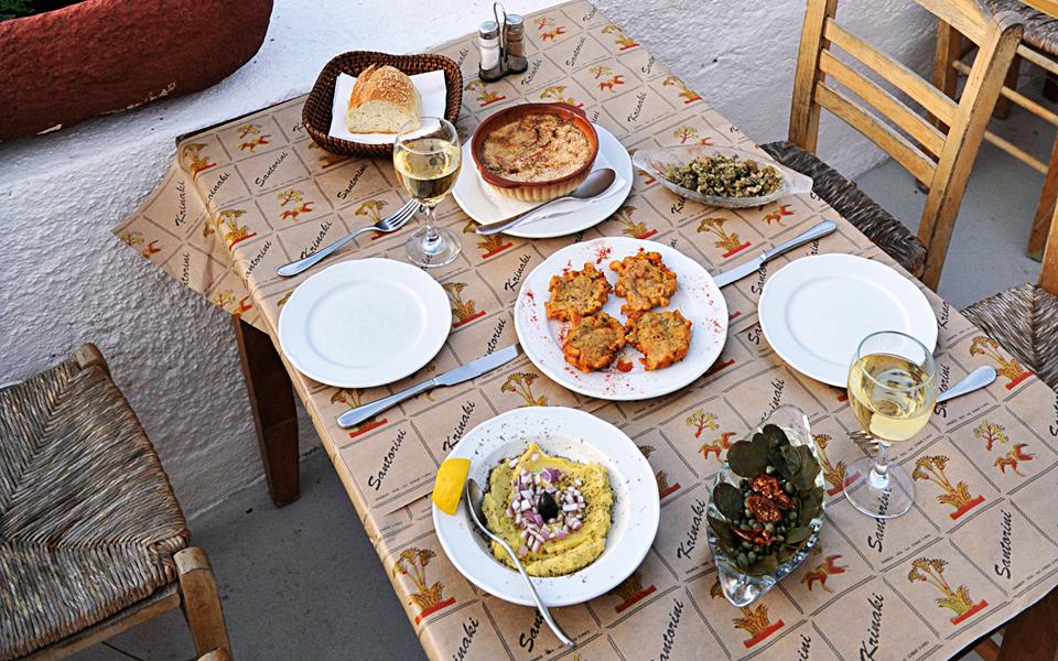 Santorinian Flavor Mosaic - Greece Is