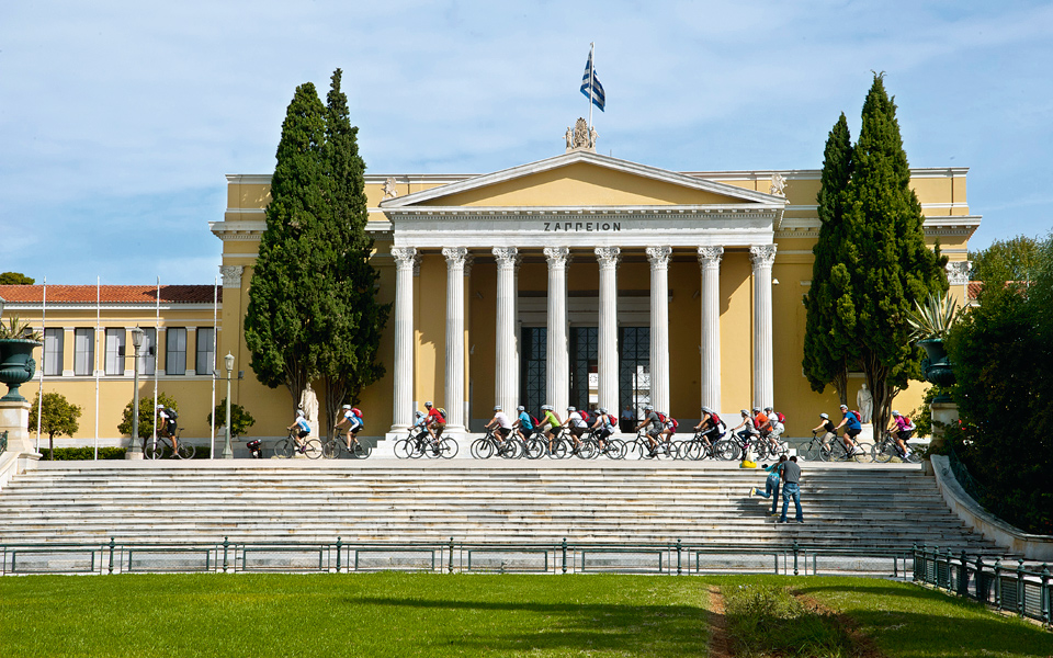 <h5>THE ZAPPEION HALL</h5>