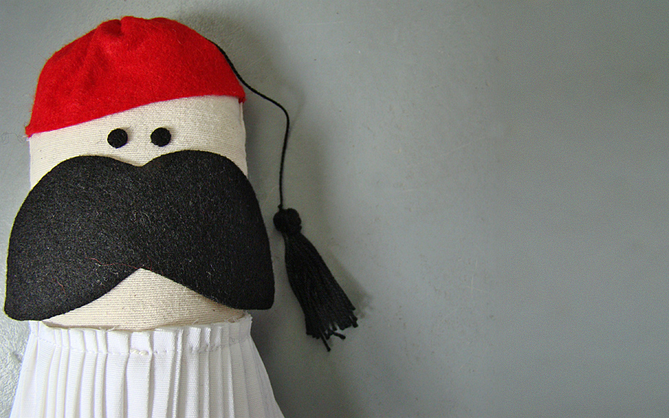 <h5>A TSOLIAS DOLL WITH A DIFFERENCE</h5>