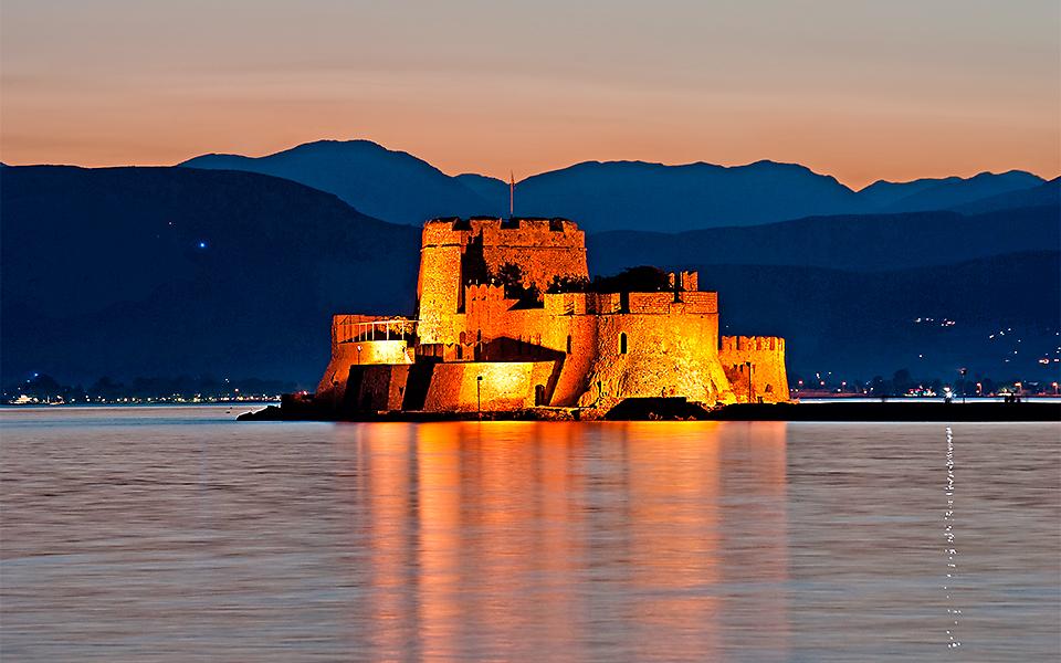 <h5>Bourtzi castle</h5>