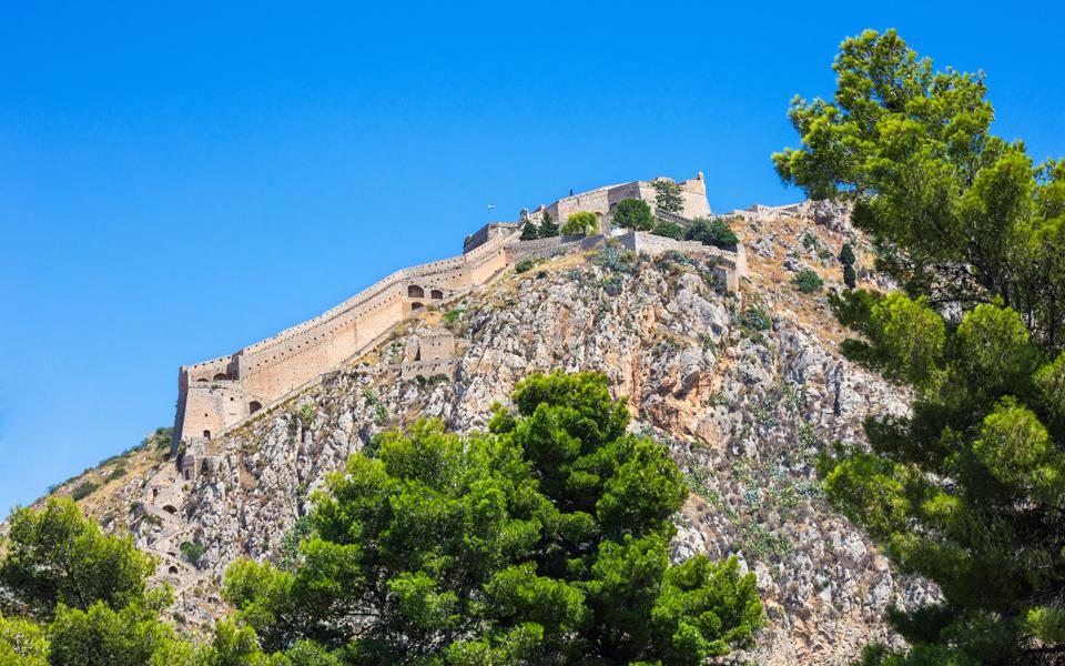 <h5>Palamidi Castle</h5>