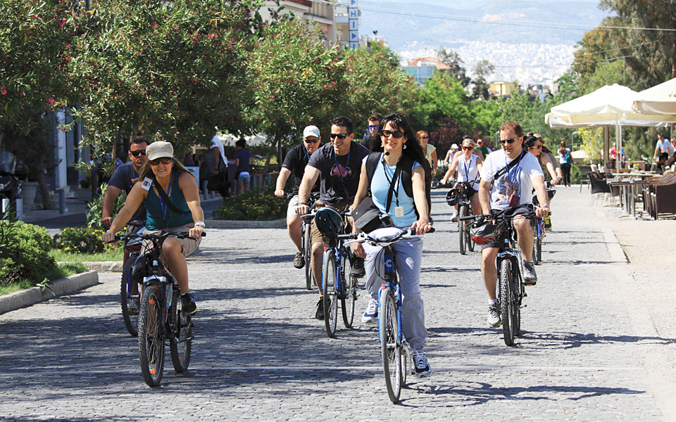 <h5>Athens By Bike</h5>
