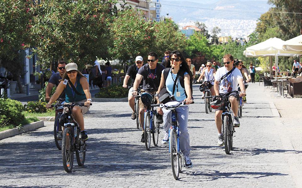 <h5>Athens By Bike</h5>