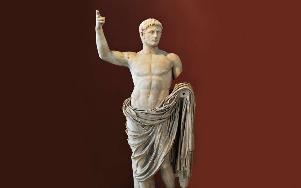 <h5>Statue of Octavian Augustus (14-37 BC)</h5>