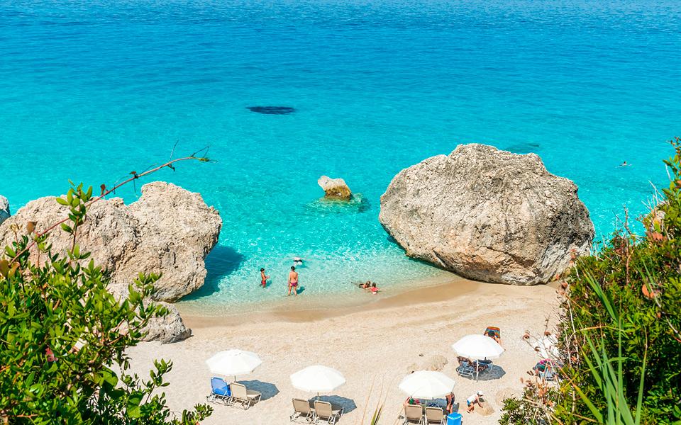 H5 Kavalikefta Beach Lefkada Ionian