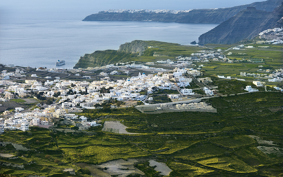 A Hidden Gem Pyrgos Village In Santorini Greece Is