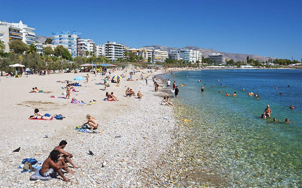 Edem Is The Closest Beach To Center Of Athens