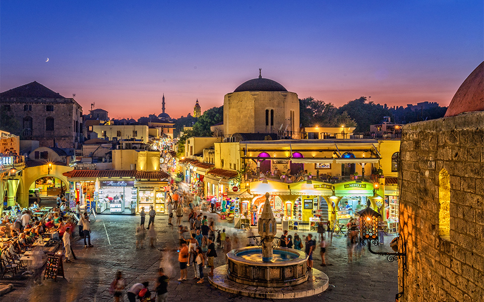 The Old Town of Rhodes - Greece Is