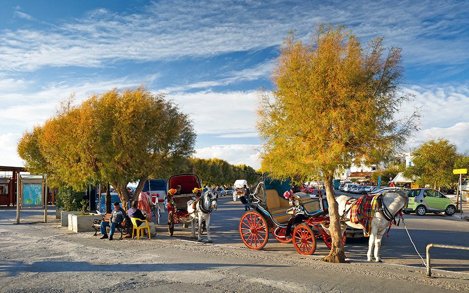 Fall in Aegina town. © Shutterstock