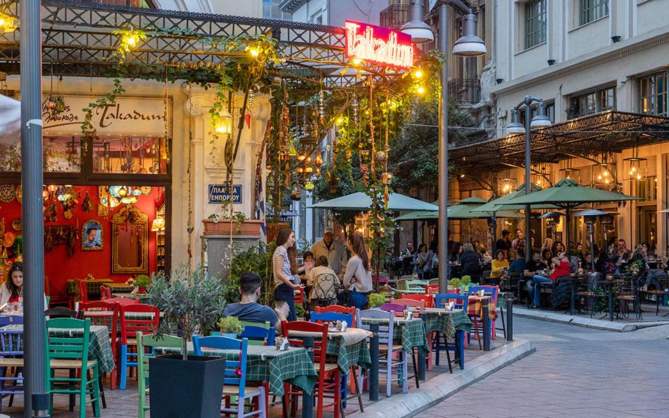 Салоники Ваш путеводитель по городу: чем заняться за 72 часа в Салониках ladadika 05