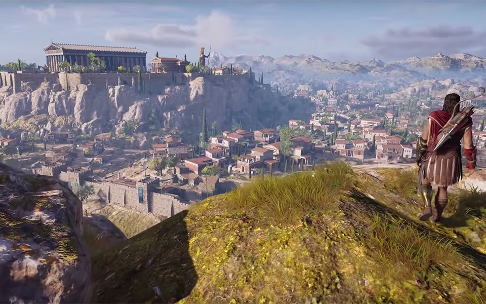 Assassin S Creed Odyssey S Stunning Recreation Of Ancient Athens Greece Is