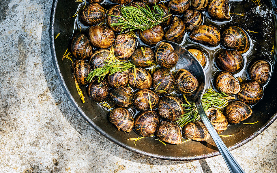 Recipe How To Cook Snails Cretan Style Greece Is